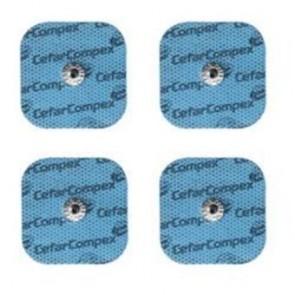 Electrodos Cefar Compex Snap 5x5cm. 4 unid
