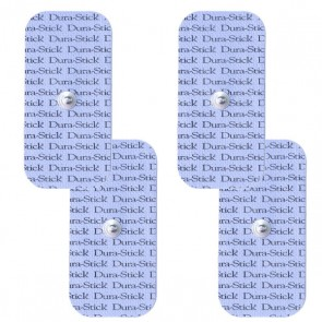 Electrodos Durastick (tipo Compex) Clip 5x10cm. 4 unid