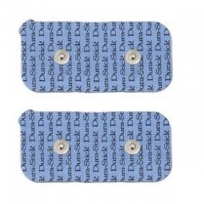 Electrodos Durastick (tipo Compex) Snap 5x10cm. 2 unid