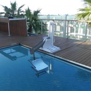 Elevador de piscina METALU 600 - Capacidad de carga 120 kg