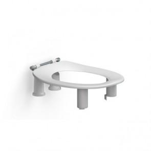Elevador de wc Dania 10cm. sin tapa