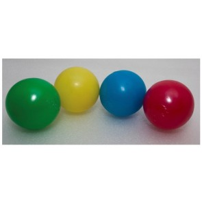 100 bolas de 7.5 cm