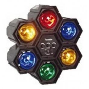 Luz modular interactiva con 6 colores diferentes