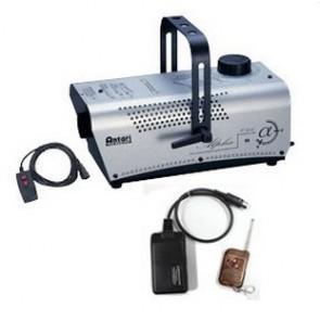 Máquina de humo con mando inalámbrico