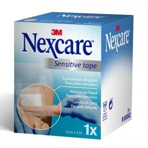 Esparadrapo de papel Nexcare color piel 5cm.x5m.