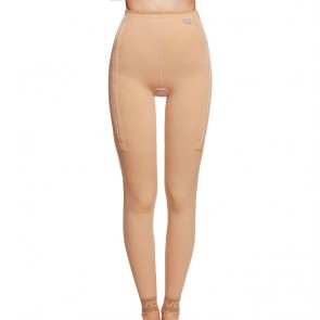 Faja post liposucción desde tobillos hasta cintura con cremallera