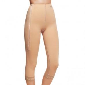 Faja post liposucción por debajo de rodillas hasta cintura con cremallera