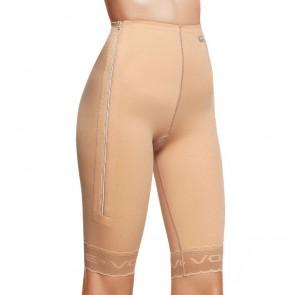Faja post liposucción por encima de rodillas hasta cintura con cremallera