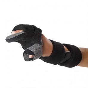 Férula inmovilizadora pediátrica en posición funcional de muñeca, mano y dedos derecha