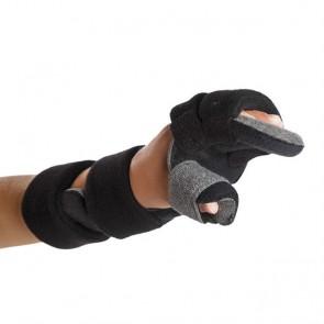 Férula inmovilizadora pediátrica en posición funcional de muñeca, mano y dedos izquierda