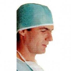 Gorro de cirujano con cintas. 100 uds