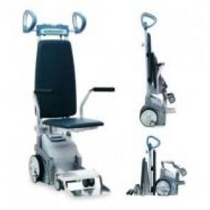 Scalacombi S36 - Sube escaleras electronico con asiento integrado plegable