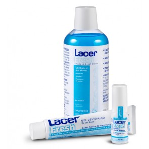 Lacer fresh gel dental 75 ml (frescor intenso)
