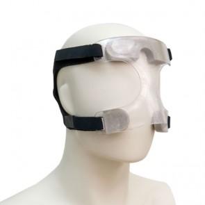 Máscara de protección facial deportiva transparente