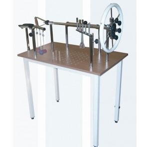 Mesa de manos para rehabilitación en acero