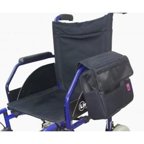 Bolso Zaio multiposición para silla de ruedas