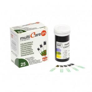 Multicare tiras colesterol 25u.