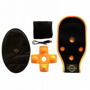 Myovolt Pro Kit terapia de vibración para hombro y cuádriceps