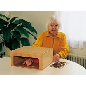 Caja táctil para objetos