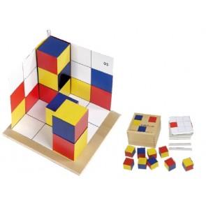 Cubicolor tridimensional