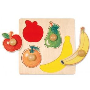 Encajable frutas 4 piezas