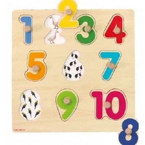 Encajable números del 1 al 10