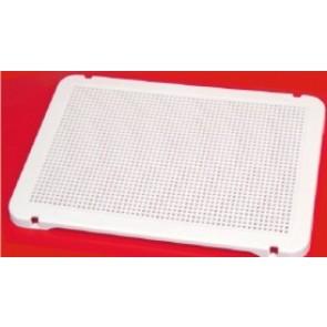 Placa blanca para pinchos 31x21cm. (set de 6 unidades)