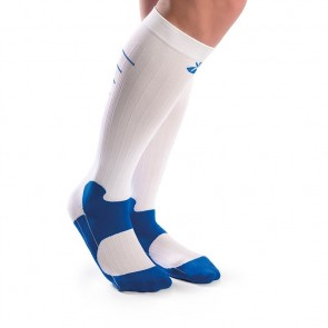 Calcetines Orliven Sport blanco-azul