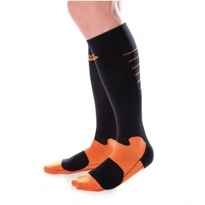 Calcetines Orliven Sport negro-naranja
