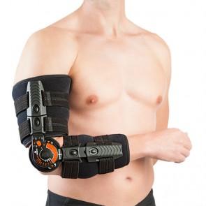 Ortesis de codo Elbowlution postquirúrgica con control de flexoextensión