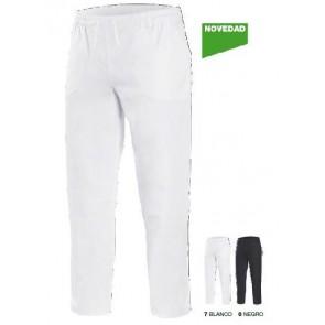Pantalon sanitario con goma y cinta ajustable