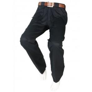 Pantalón adaptado casual azul marino