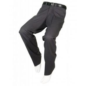 Pantalón adaptado de vestir color gris