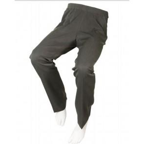 Pantalon adaptado de vestir gris marengo para señora