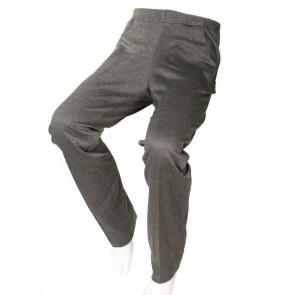 Pantalón adaptado tejido zig-zag para señora