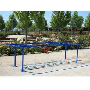 Paralelas EC/6 con pista de obstáculos