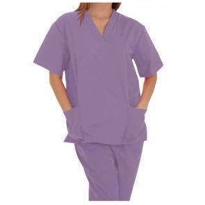 Pijama sanitario unisex lila