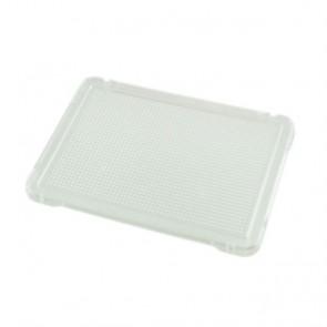Placa transparente para pinchos 31x21cm. (set de 6 unidades)