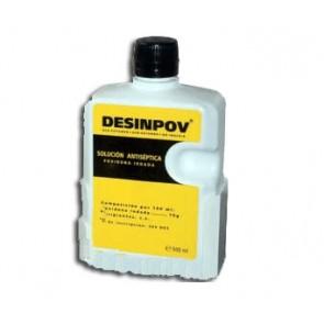 Povidona yodada solucion al 10% 500 ml.