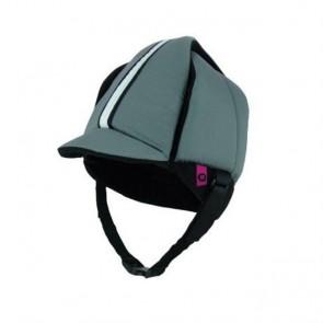 Protección craneal gorra gris transpirable semicerrado