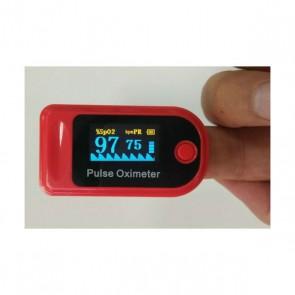 Pulsioxímetro digital de dedo con voz GM100P20-B