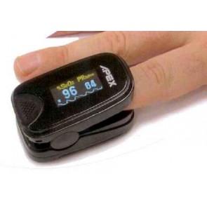 Pulsioxímetro portátil de dedo Apex