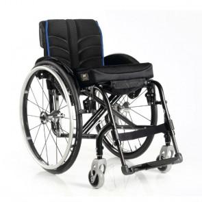 Quickie Easy Max - Silla de aluminio plegable con cruceta de 3 brazos