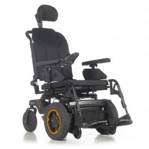 Quickie Q400F Sedeo Lite - Silla de ruedas eléctrica de tracción delantera
