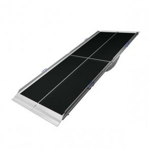 Rampa ligera portátil dos piezas plegable por la mitad Aerolight Lifestyle de 240 cm.