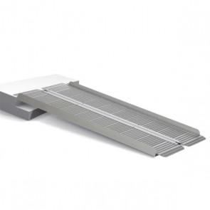 Rampa plegable en V de aluminio 120cm. RP120