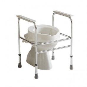 Reposabrazos auxiliares de aluminio para WC - Elevador wc no incluido