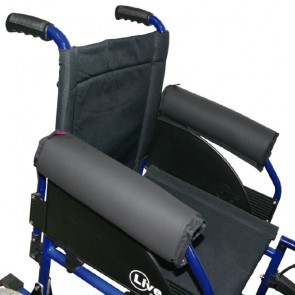 Reposabrazos Saniluxe para silla de ruedas