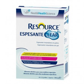 Resource espesante Clear 24 sobres x 1,2gr.