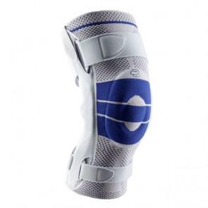 Genutrain S Pro - Rodillera con centrado para la rótula en silicona, flejes laterales y control de flexoextensión